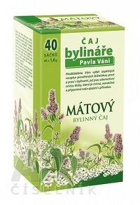 APOTHEKE VÁŇA ČAJ MÄTOVÝ bylinný čaj 40x1 6 g