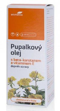 aromatica PUPALKOVÝ OLEJ S BETA-KAROTÉNOM A VIT.E 50 ml