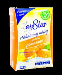 asp STAR práškový vlákninový nápoj, príchuť pomaranč 300g