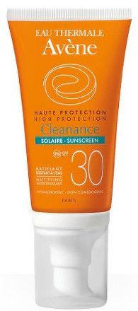 AVENE CLEANANCE SOLAIRE SPF30 slnečná ochrana citlivej kože so sklonom k akné 1x50 ml