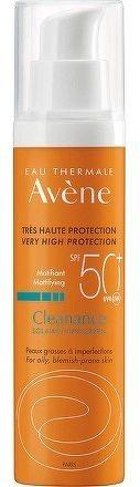 AVENE CLEANANCE SOLAIRE SPF50+ slnečná ochrana citlivej kože so sklonom k akné inovácia 2018 1x50 ml