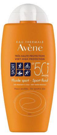 AVENE FLUIDE SPORT SPF50+ sport fluid, veľmi vysoká ochrana 1x100 ml