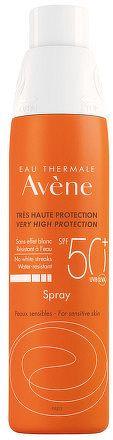 AVENE SPRAY SPF50+ sprej veľmi vysoká ochrana citlivej kože 1x200 ml