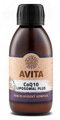 Avita CoQ10 LIPOSOMAL Plus roztok, fosfolipidový komplex 150ml
