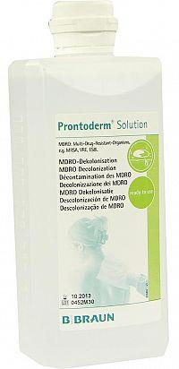 B.BRAUN prontoderm solution roztok, antimikrobiálna bariéra 500ml