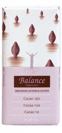 BALANCE Pochutina s kakaom a ryžovým mliekom 85g