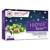 BARNY'S Hypnox FORTE plus 20 tabliet