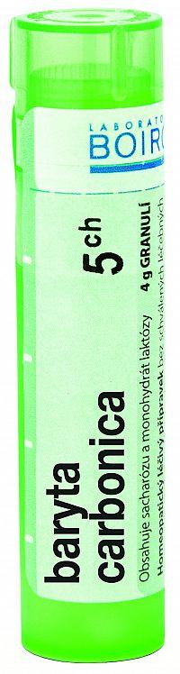 Baryta Carbonica granule CH5 4g