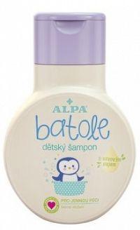 Batole detský šampón s olivovým olejom 200ml