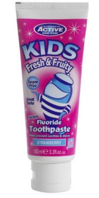 BeautyFormulas Detská zubná pasta 100ml