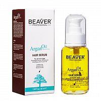 BEAVER ARGAN OIL HAIR SERUM sérum na suché a poškodené konce vlasov s argánovým olejom 1x50 ml
