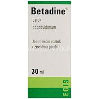 Betadine 100 mg/ml dezinfekčný roztok 30ml