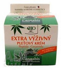 BIO Cannabis PLEŤOVÝ KRÉM Extra výživný 1x51 g