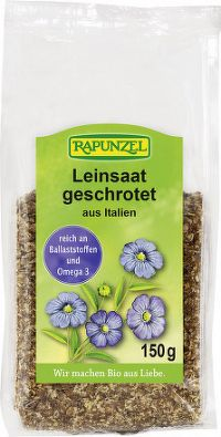 Bio ľanové semienko drvené Rapunzel 150g