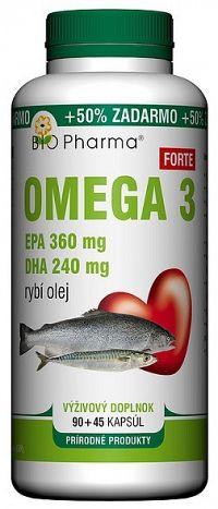 Bio Pharma Omega 3 Forte 1200mg 90+45 tabliet