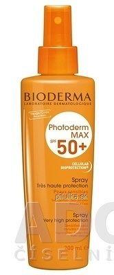 BIODERMA PHOTODERM MAX SPF 50+ sprej inov.2013 1x200 ml