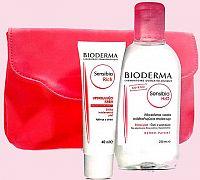 BIODERMA VIANOCE BALIK Sensibio H2O + Rich odličovacia micelárna voda 250 ml + ukľudňujúci krém 40 m