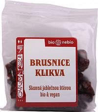 BioNebio Bio brusnice kľukva s jablkovou šťavou 400 g