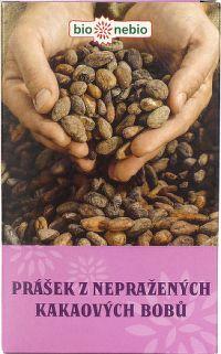 BioNebio Kakaový prášok z nepraženého kakaa 150g