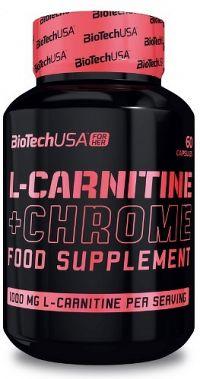 BioTech USA L-Carnitine + Chrome For Her 60 tabliet