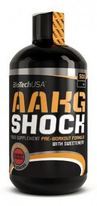 BiotechUSA AAKG (Shock) 500 ml čerešňa