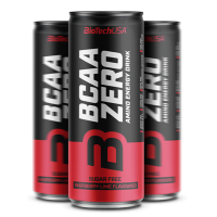 BiotechUSA BCAA Zero Energy drink malina-limetka 330ml