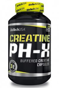 BiotechUSA Creatine pH-X 210 kapsúl