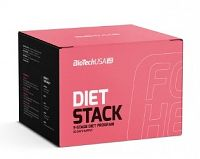 BiotechUSA DIET STACK FOR HER BALÍČEK Ultra Loss For Her x g Mega Fat Burner For Her kaps Fiber Comp
