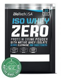 BiotechUSA ISO WHEY ZERO (NATIVE) 25 g orech-likér