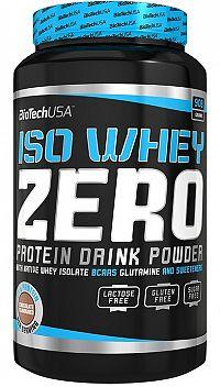 BiotechUSA ISO WHEY ZERO NATIVE (dóza) 908 g čoko-toffee