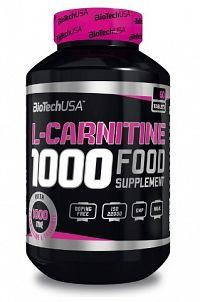 BiotechUSA L-Carnitine (1000mg) 60 tbl.
