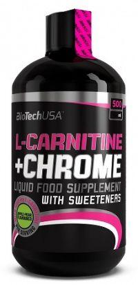 BiotechUSA L-Carnitine + Chrome (35000mg) 500 ml pomaranč