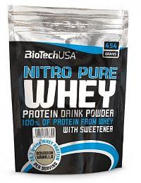 BiotechUSA NITRO PURE WHEY NEW (sáčok) 454 g Višňa-jogurt