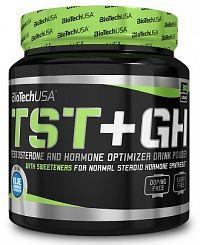BiotechUSA TST+GH 300 g modrá limonáda