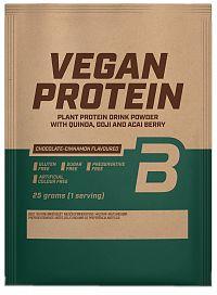 BiotechUSA Vegan Protein vanilkový koláč 25g