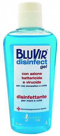 BLUVIR Disinfect gél 75ml