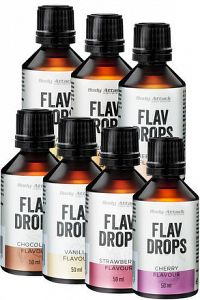 Body Attack Flav Drops, 50 ml