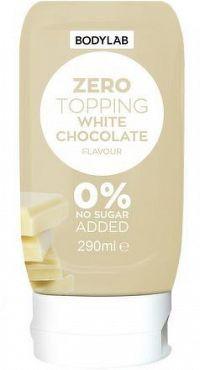 Bodylab Zero Topping Syrup bílá čokoláda 290 ml