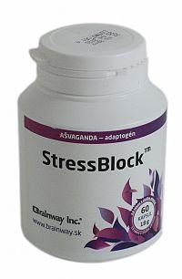 Brainway StressBlock 60 kapsúl