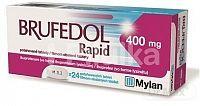 Brufedol Rapid 400 mg tbl flm 400 mg 1x24 ks