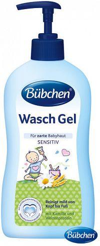 Bübchen Baby umývací gél s dávkovačom 400ml