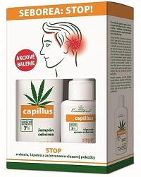 Cannaderm DUO-pack CAPILLUS Šampón + Sérum SEBOREA šampón 150 ml + sérum 40 ml, 1x1 set