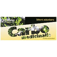 CARBO MEDICINALIS tbl 300 mg2x10