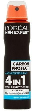 CARBON PROTECT antiperspirant ve spreji pro muže ml