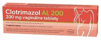 Clotrimazol AL 200mg vaginálne tablety 3ks