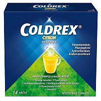 COLDREX Horúci nápoj Citrón plo por 5g 14 ks