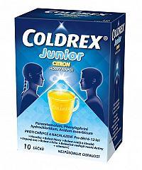 Coldrex Junior Citrón 10 vreciek