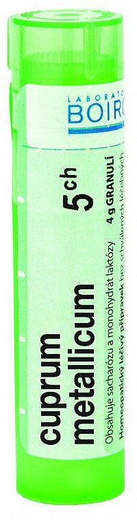 Cuprum Metallicum CH5 granule 4g