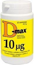 D-max 10 µg 90 tbl