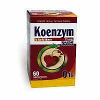 DACOM Koenzým Q10 15 mg s horčíkom 60 cps